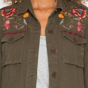 Johnny Was Jackets & Coats - NEW Johnny Was Bonnie drawstring military jacket